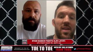 UFC Fight Night 93's Ryan Bader: 'I'm going to take some risks to try and get the finish'