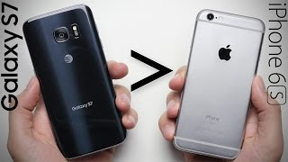 25 Reasons Why Galaxy S7 Is Better Than iPhone 6S