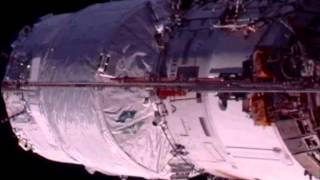 ATV-3 docking on ISS 29.03.2012
