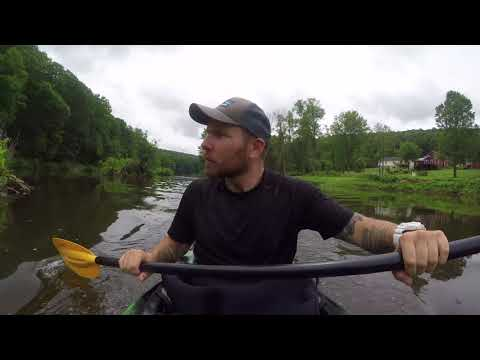 Clarion River Solo Kayak Camp