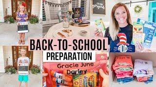 BACK TO SCHOOL ORGANIZATION HACKS AND IDEAS // BACK TO SCHOOL PREPARATION