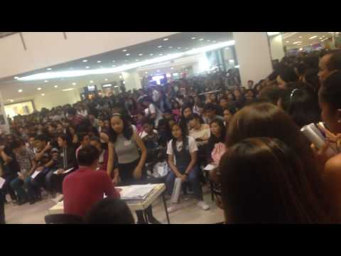 The Voice teens philippines Audition @starmall alabang