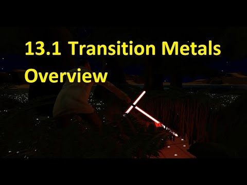 13.1 Transition Metal Properties Overview [HL IB Chemistry]