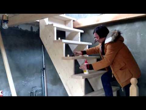 Как переделать лестницу если она крутая