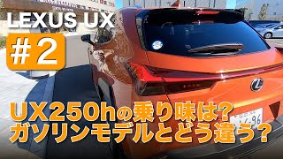 "LEXUS UX250h ""version L"" E-CarLife with YASUTAKA GOMI 五味やすたか"