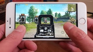 iphone 6 pubg play and ghrapics quality showing review and gameplay