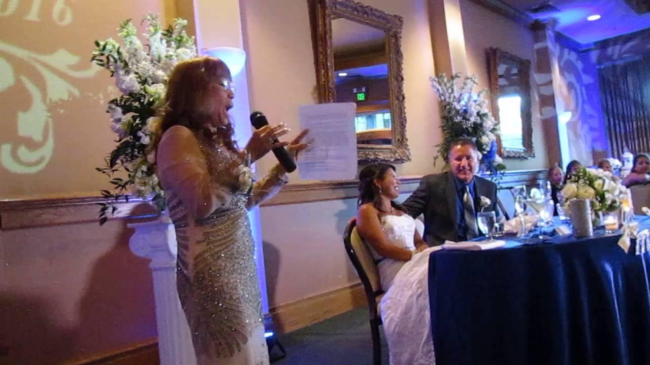 Aussie Mother of the Bride Speech Best Ever Wedding - YouTube