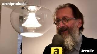 Fuorisalone 2017 | ARTEMIDE - Michele De Lucchi ci racconta Ipno la nuova lampada LED