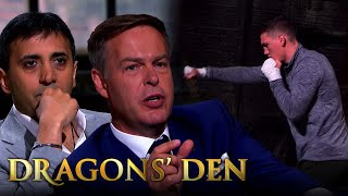 Bruising Encounter With Peter Jones Over Technology Rights | Dragons' Den