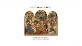 La Liturgio de la Vorto — Epifanio de la Sinjoro — 6.01.2021