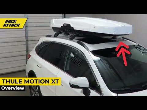 Thule Motion XT Series Roof Top Cargo Box Overview