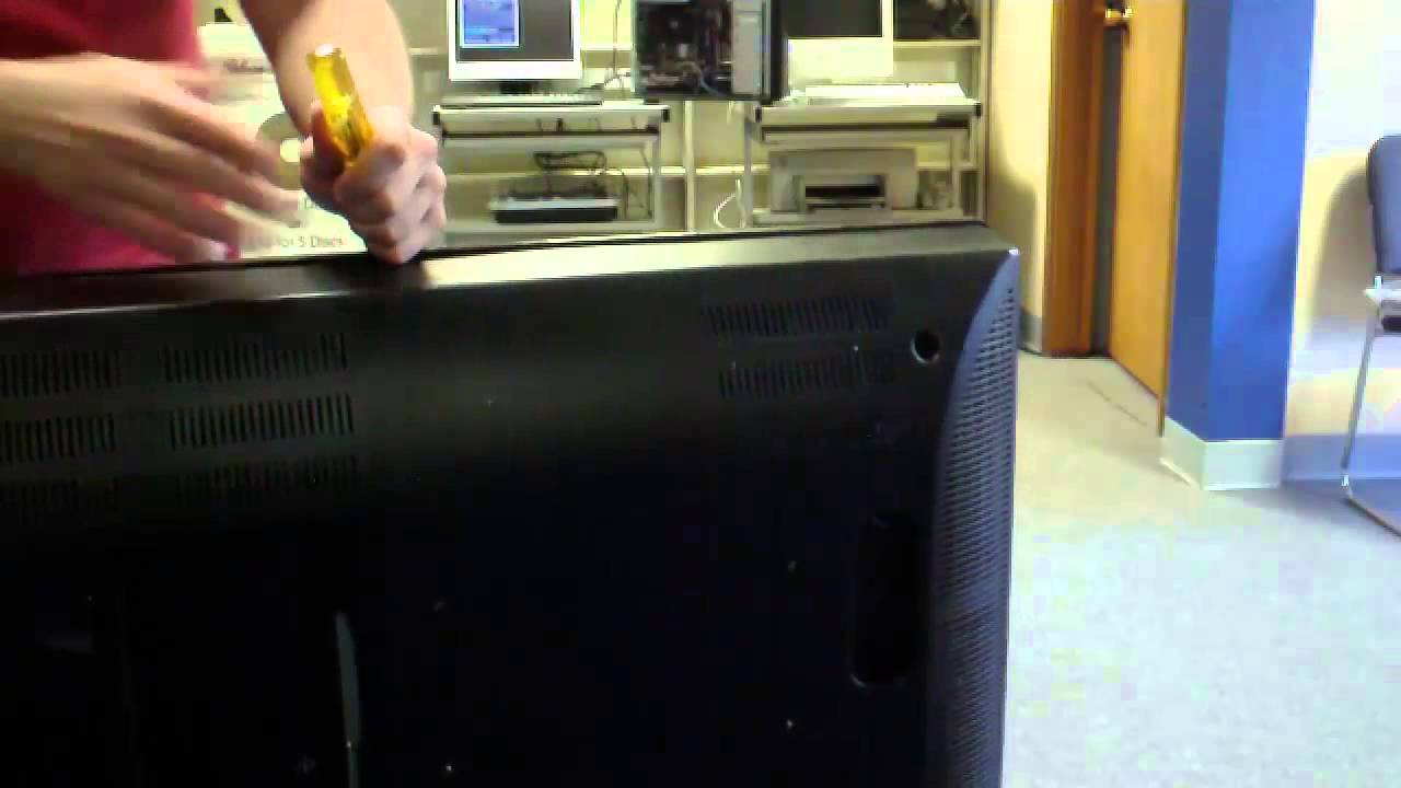 Hannspree Jtg 37in Tv Diagnosis And Repair  Disassembly And Diag Youtube