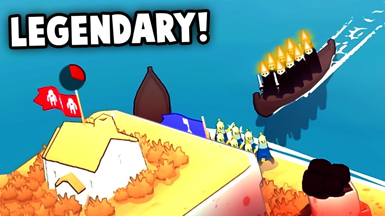 INVADED BY LEGENDARY ENEMIES! (Bad North Gameplay Part 3)