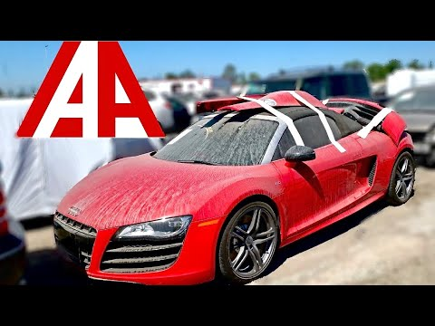 Iaa Walk Around Salvage Exotics Cars At Insurance Auto Auctions