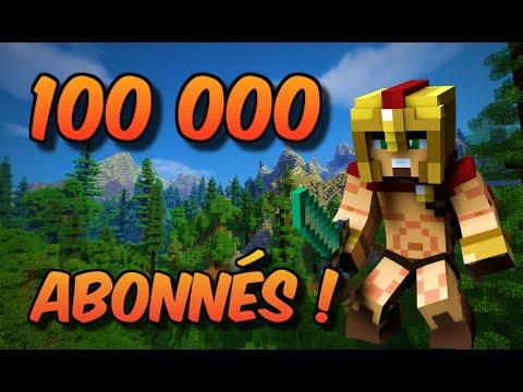ÉNORME CACHE CACHE SUR MINECRAFT SPÉCIAL 100 000 ABONNÉS !!
