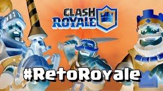 CASI ME EXPLOTA EL CEREBRO CON LOS COLORES INVERTIDOS | #RetoRoyale | Clash Royale