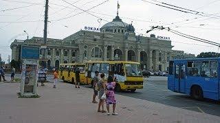 Walking in Odessa (Ukraine)