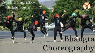 Yaar Bamb x Zindabaad Yaarian   Bhangra Mix   Bhangra Choreography   Team BTLB