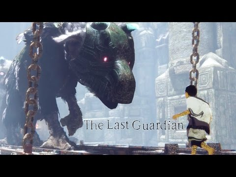 The Last Guardian Action Gameplay Trailer Youtube