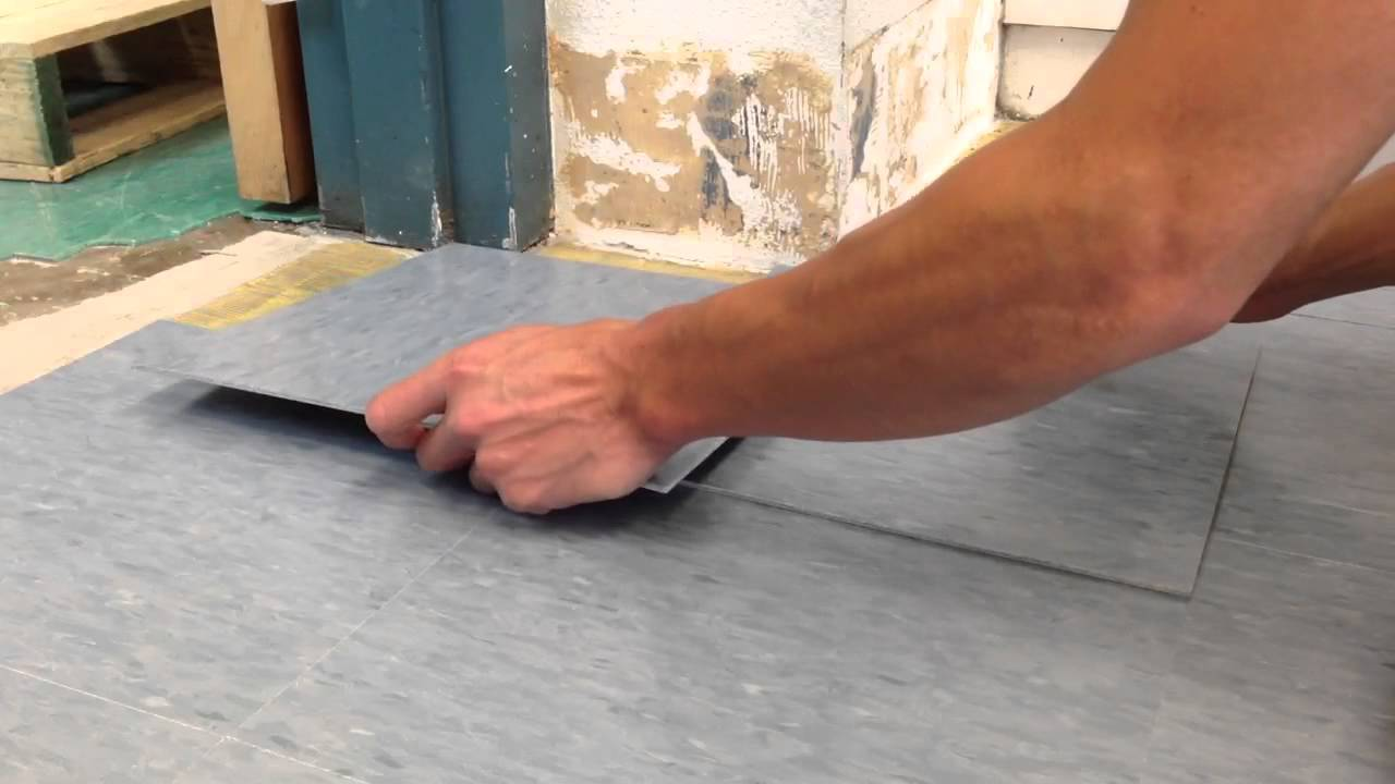 How to cut vct tile using a torch youtube how to cut vct tile using a torch ppazfo