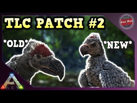 EVERYTHING YOU NEED TO KNOW ABOUT TLC PATCH #2 | ARK SURVIVAL EVOLVED