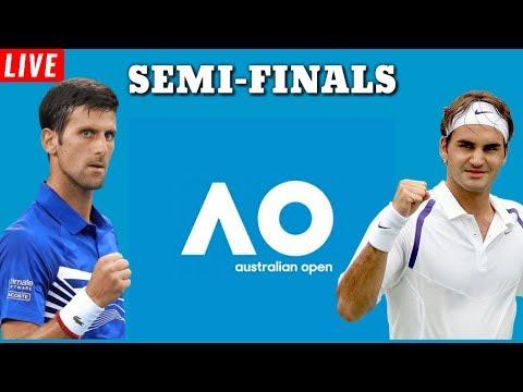 AO Live Federer Vs Djokovic Australian Open 2020 Semi Finals Live Tennis AO Full Match