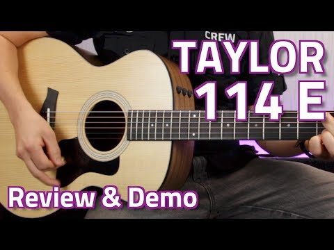 Taylor 114E Electro-Acoustic (Walnut) - Review & Demo