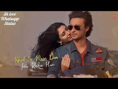 Tera hua Video song whatsapp status ~Sk love whatsapp | Loveyatri | Aayush Sharma | Warina Hussain |
