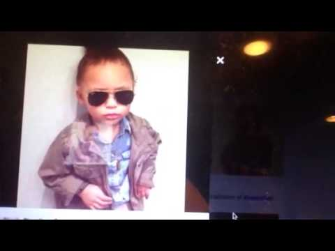 Riley Curry Prepares Backstage For NBA Finals Press Conference