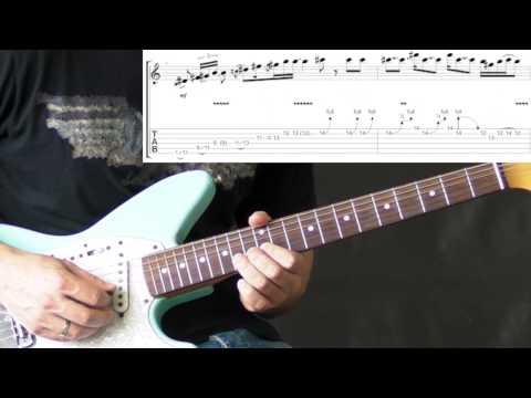 Jimi Hendrix - Red House Licks - Blues Guitar Lesson