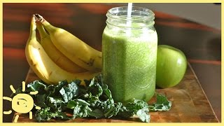 EAT | Banana Kale Smoothie Recipe
