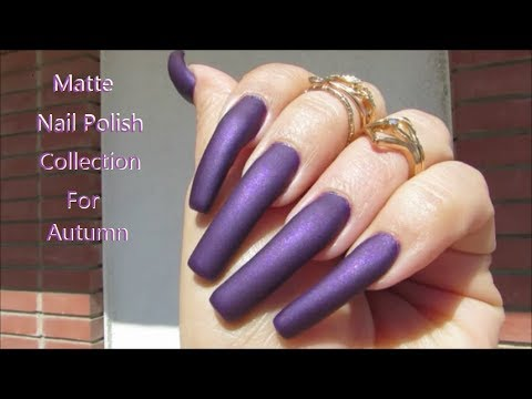 Fall Nail Polishes Matte Metallics Klean Color Swatches Collection ...