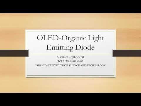 OLED- Organic Light Emitting Diode