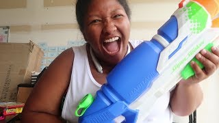 BEST WATER BALLOON & SUPER SOAKER PRANK!!! MUST SEE!