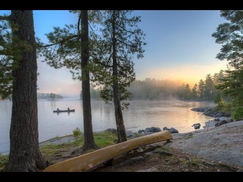 Boundary Waters 2013 - Lower Basswood Falls