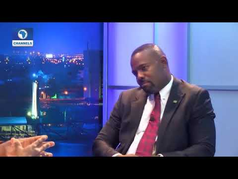 Download Hon Patrick Obahiagbon In Channel TV Studio Blowing Grammar to the Presenter and Viewers.
