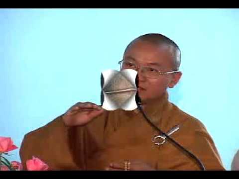 Giá Trị Quán Tưởng Trong Niệm Phật (Phần 2-2) (11/12/2008)  Thích Nhật Từ