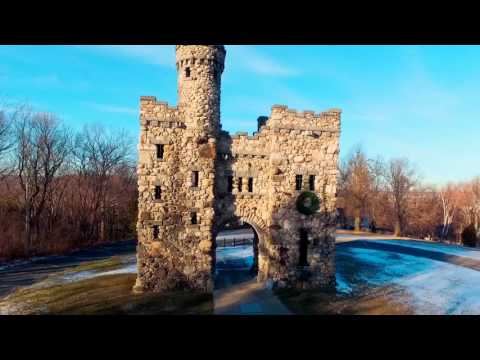 Bancroft Tower - Worcester MA - January 7th 2016