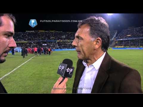 """Russo: """"Esto es para la gente"""". Central 3 Argentinos 2. Fecha 19. Fútbol Para Todos"""