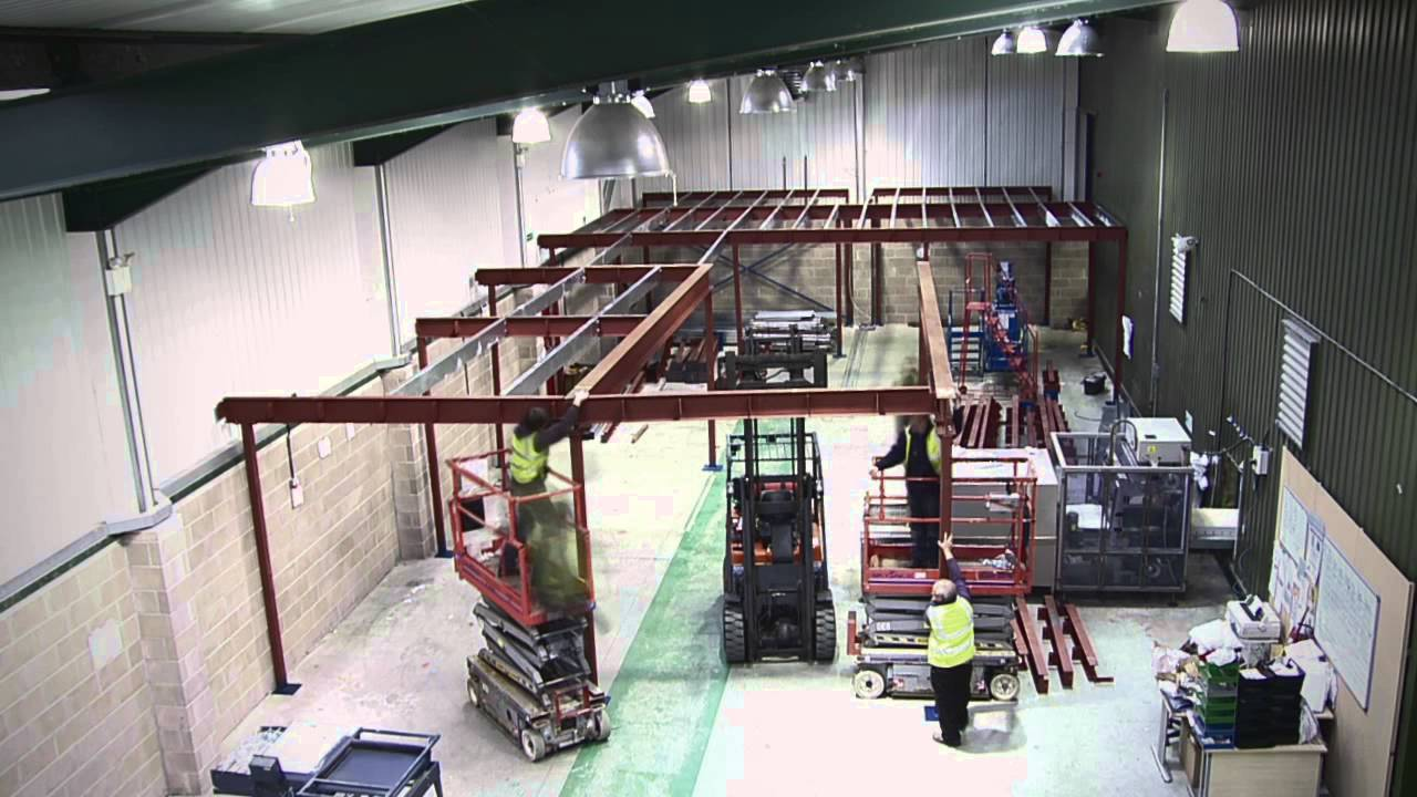 Mezzanine Flooring Timelapse Spaceway Hampshire YouTube