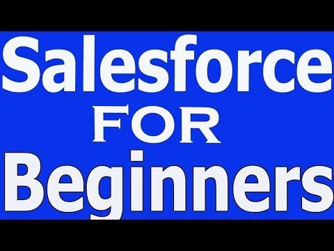 Salesforce CRM Training Tutorial Videos For Beginners Call +91-8886552866