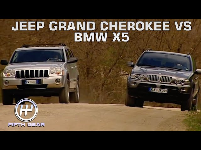 Jeep Grand Cherokee VS BMW X5 | Fifth Gear Classic