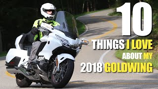 10 Things I Love About The 2018 Honda Gold Wing