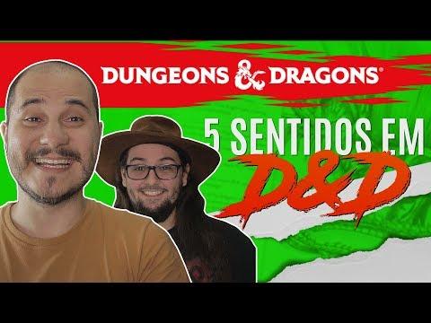 CINCO SENTIDOS E O D&D - D&D Quinta Edição - Basic Attack #04