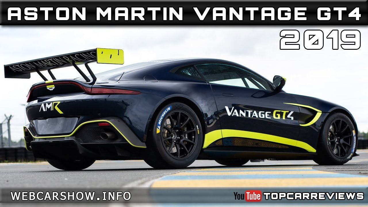 2019 Aston Martin Vantage Gt4 Review Rendered Price Specs Release