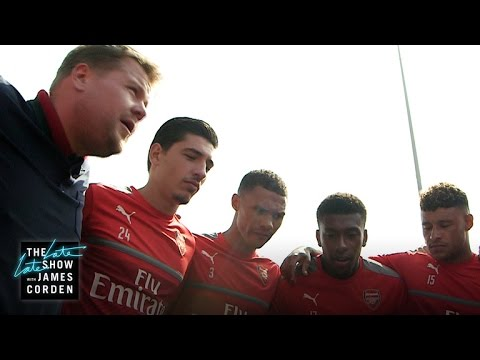 Thumbnail: James Corden Takes Over as Coach of Arsenal F.C.