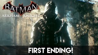 Batman Arkham Knight - First Ending | 1080p 60fps
