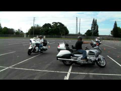 3 bikes in the intersection exercise