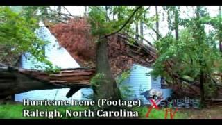 HipHopNC-Hurricane Irene makes landfall in North Carolina 2011