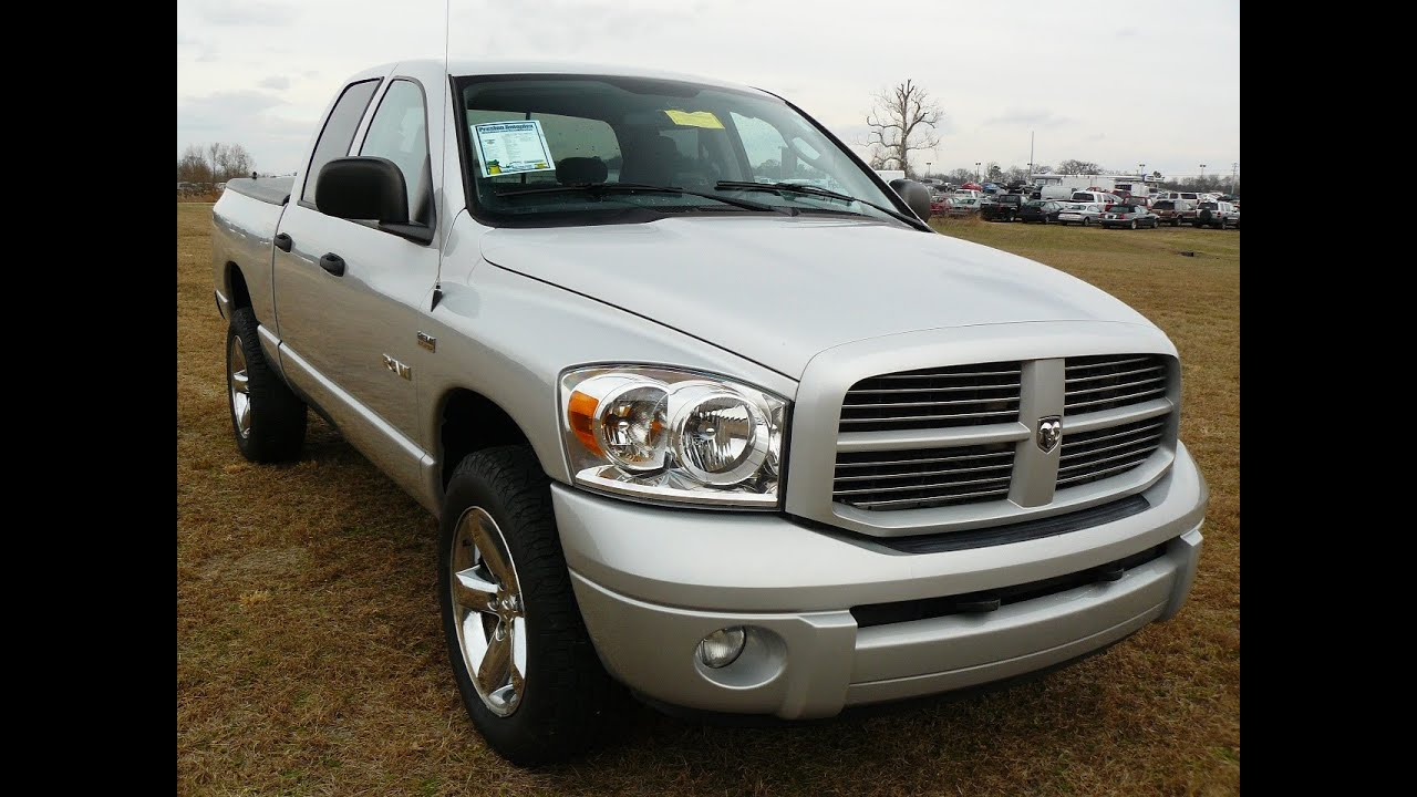 2008 dodge ram sport 4wd hemi 5 7 crew cab used truck sale maryland youtube. Black Bedroom Furniture Sets. Home Design Ideas